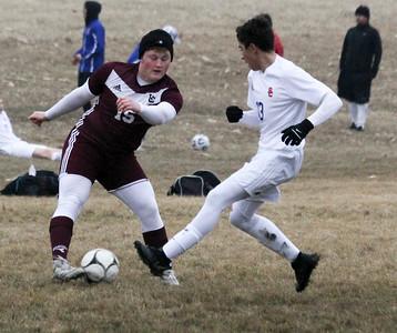 WC boys' soccer versus Sioux Center 4-4-19