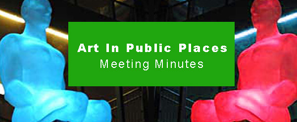 Art In Public Places April 2012