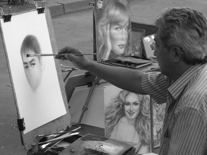 Kyrgyz Portrait Artist - Almaty, Kazakhstan