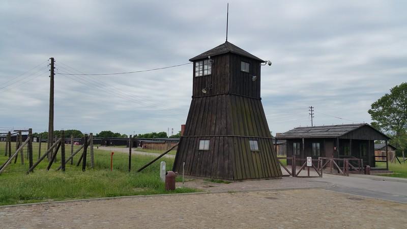 Inmates camp entrance.