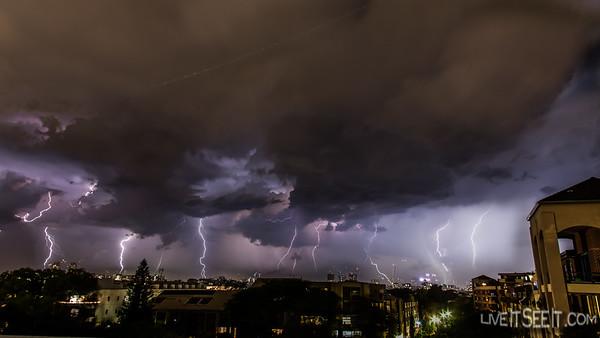 Sydney Lightning - December 2015