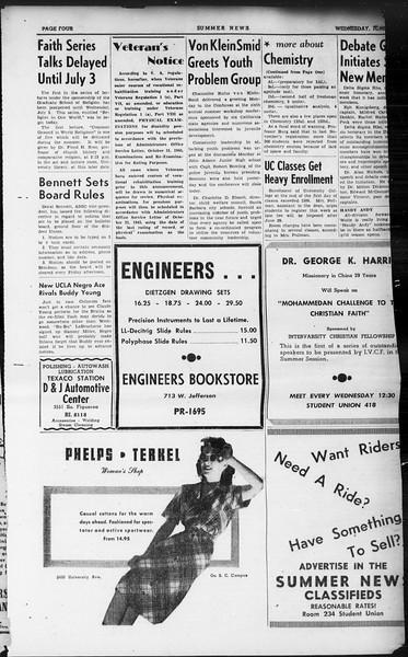 Summer News, Vol. 1, No. 2, June 26, 1946