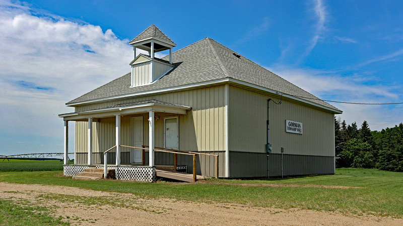 Gorman Town Hall, Otter Tail Co, Minnesota