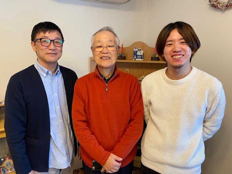 Rev. Hideo Ohashi: 3 generations