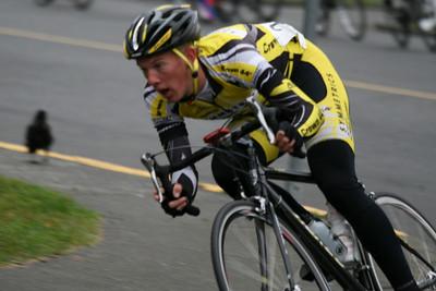 Oak Bay Crit A race, Sep. 20, 2008
