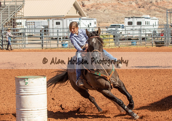 Friday - 5th & Under - Barrel Racing - Girls