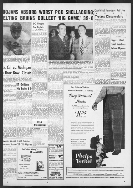 Daily Trojan, Vol. 42, No. 48, November 27, 1950