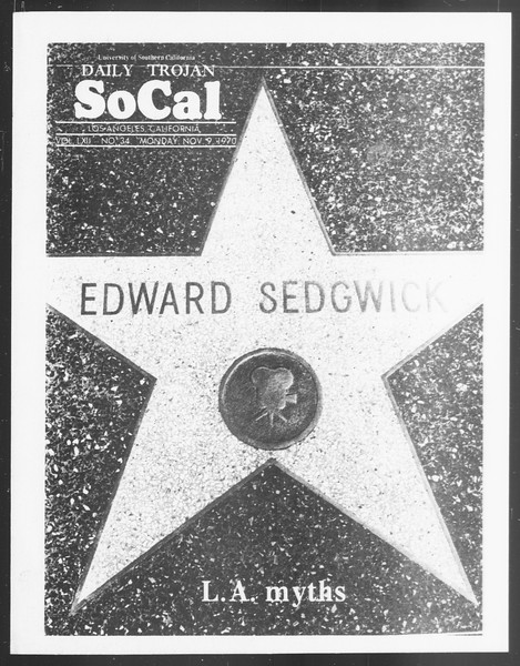 SoCal, Vol. 62, No. 34, November 09, 1970