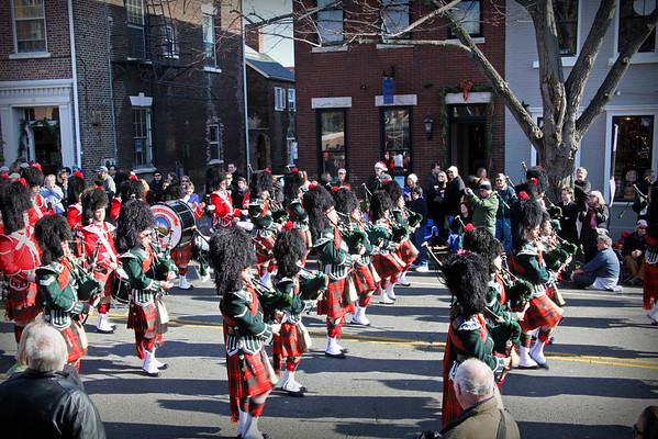 Alexandria Scottish Christmas Parade, 2011