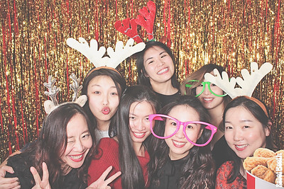 12-20-18 Atlanta 1818 Club Photo Booth - First IC Bank Christmas Party 2018 - Robot Booth