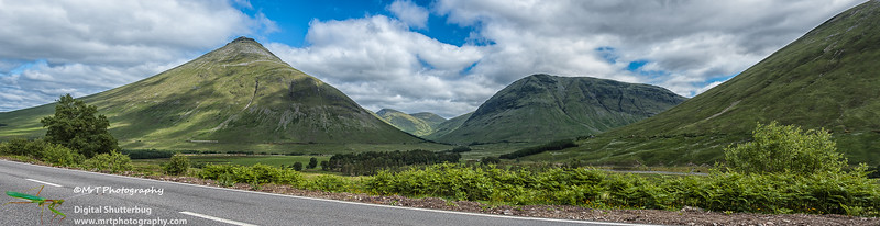 Central Scotland on a fine summer afternoon