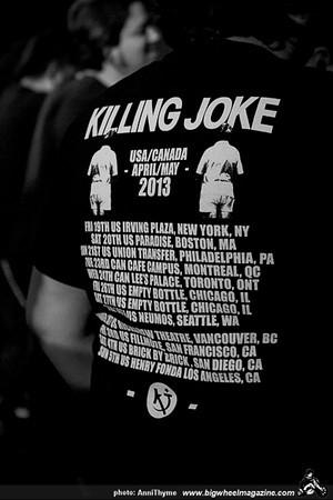 Killing Joke - Czars - at Henry Fonda Theatre - Hollywood, CA - May 5, 2013