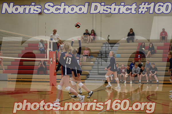 Middle School Volleyball 8th vs. Elkhorn Middle School