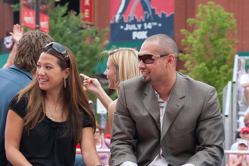 "Shane Victorino, Phillies, 2009 MLB All Star Game ""Red Carpet Show"", St. Louis, MO"