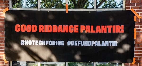 "Sep 21 Palo Alto ""Good Riddance to Palantir"""
