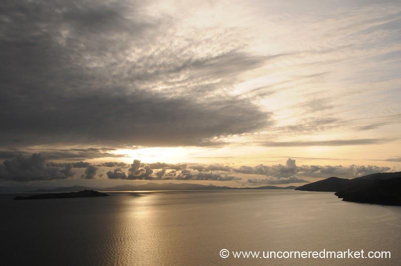Sunrise Over Lake Titicaca - Isla del Sol, Bolivia
