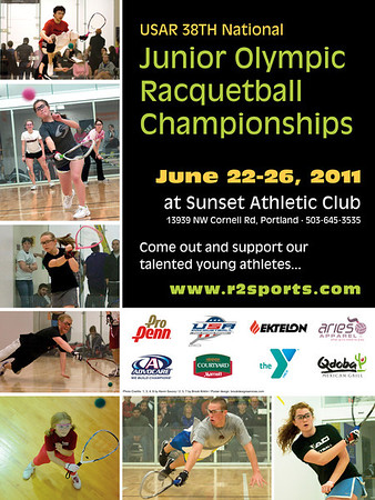 Jr. Racquetball Poster 2011