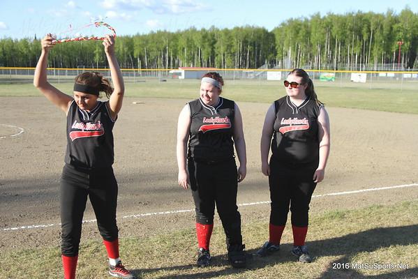 Valley Softball Seniors Celebration