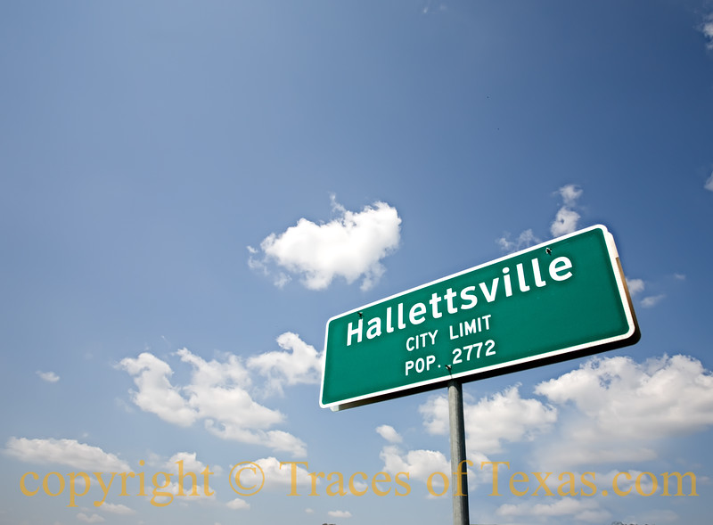 Title: Hallettsvile City Limits <br /> <br /> Comments:<br /> <br /> Location: Hallettsville