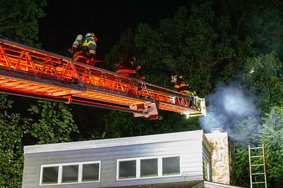 200blk Hibernia Rd -  Chimney Fire