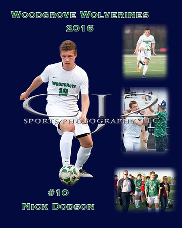 2016 Woodgrove Boys Soccer Seniors