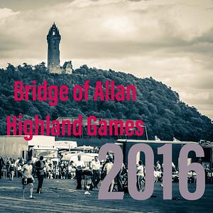 The 2016 Bridge of Allan Highland Games