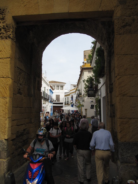 Entering the Old City