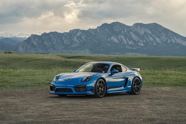 Porsche Cayman GT4 | HRE Wheels