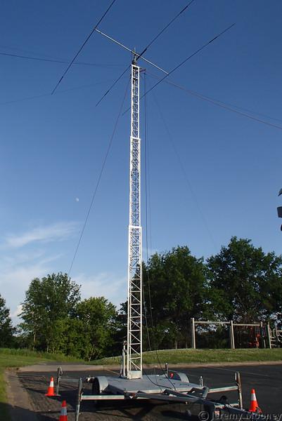 W0MR/K0AGF Field Day - CW antenna