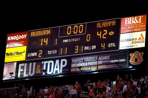 Alabama - Auburn 2011