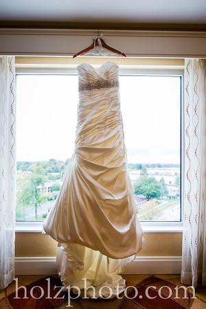 Carlee & Jimmy Color Wedding Photos