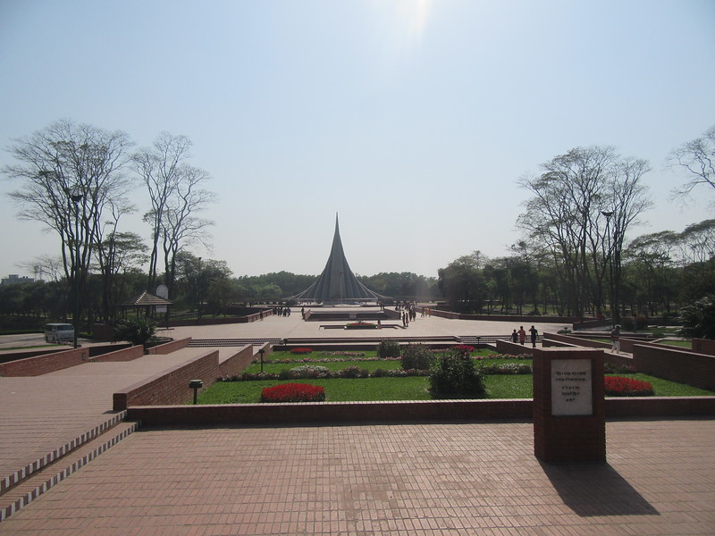 018_Savar. National Martyrs' Memorial. 1947, Britain out, creation of Eastern Pakistan. 1971 Independence.JPG