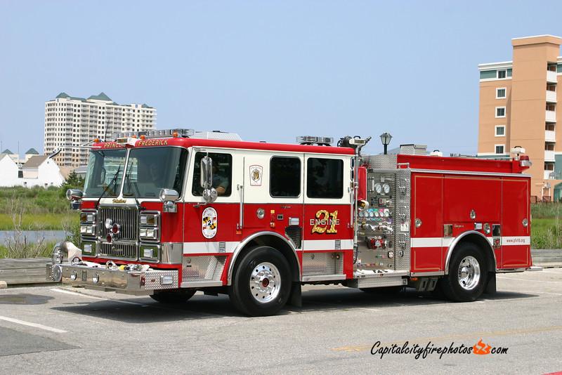 Prince Frederick Engine 21: 2008 Seagrave Marauder II 1750/750