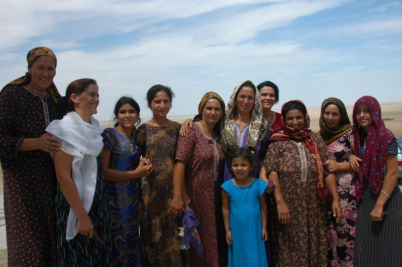 Group Picture of Women Pilgrims - Paraw Bibi, Turkmenistan