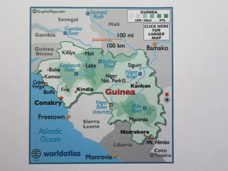 004_Guinée. (Conakry). Naissance de grands fleuves Africains (Gambia, Niger, Sénégal).JPG