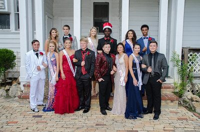 18-09-21 Homecoming Court & Rotary