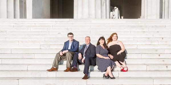 2019-10-04 Family @ Lincoln Memorial