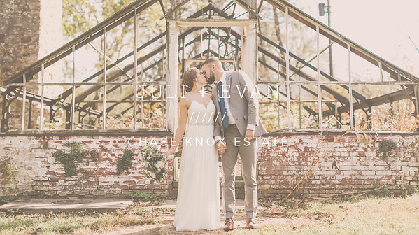 JULI + EVAN ////// CHASE KNOX ESTATE