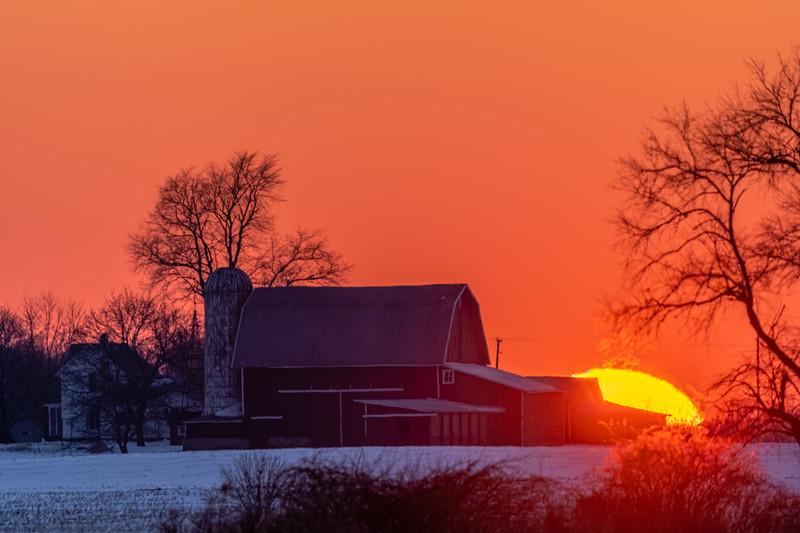 sunset over the Webber's barn 2-16-20-19.jpg
