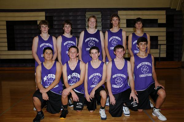 2008/09 - NCS Boys JV Basketball Team