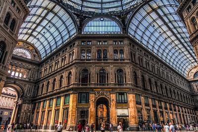 Galleria Umberto, Naples, Italy 2013