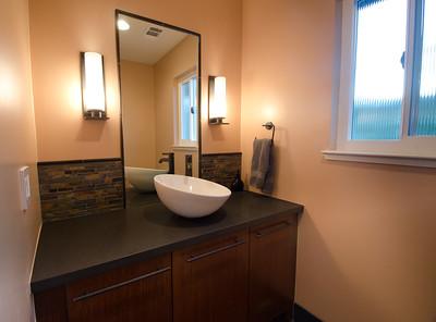 Modern Dual Bathroom Remodel
