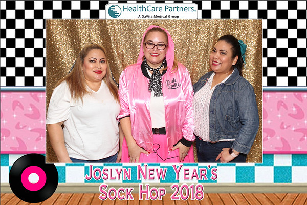 Joslyn New Year Sock Hop