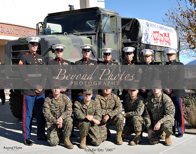 Marines Toys for Tots