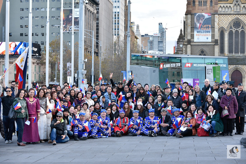 Philippine Flag Raising in Melbourne 2017