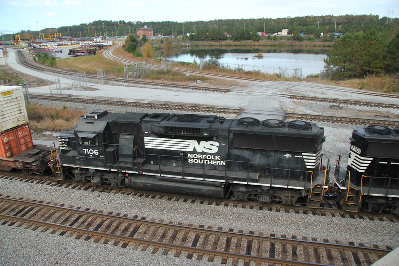 NS 7106 (GP60) Whitaker Yard, Austell, GA.