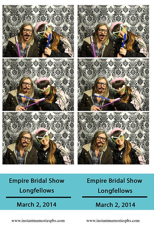 Empire Bridal Show Longfellows 3-2-2014