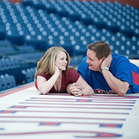 Courtney & Aaron Citizens Bank Park 3-14-11