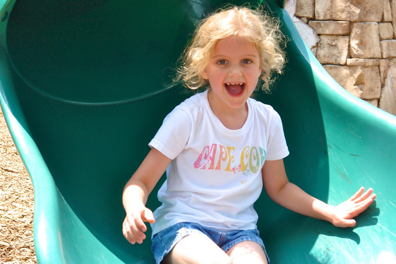 Maggie at the playground - 3