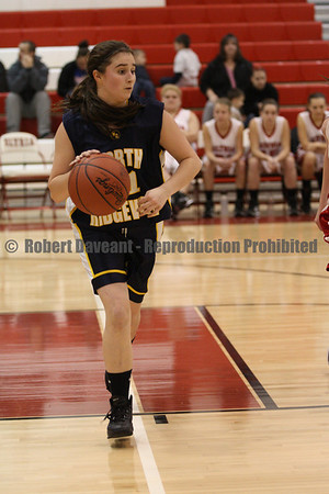 NR Girls Basketball vs Elyria 01/18/12